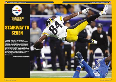 Titelstory: PITTSBURGH STEELERS Stairway to seven